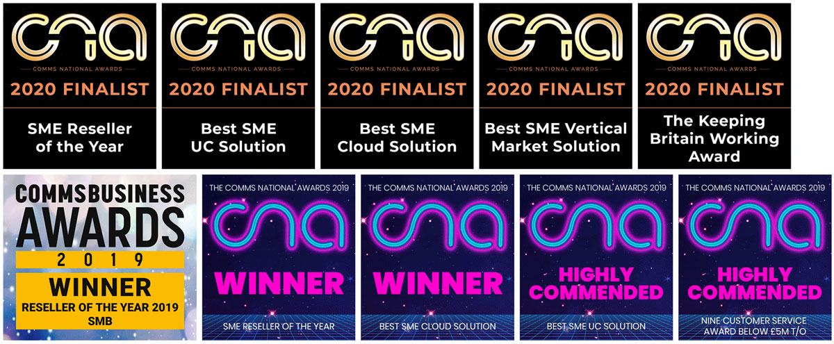 Commas National Awards Best 4 Business Communications CNA Awards Finalist 2020