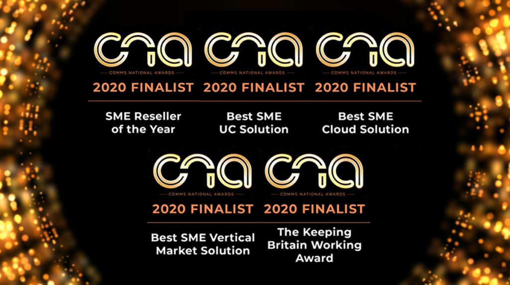 Comms National Awards Best 4 Business Communications CNA Awards Finalist 2020